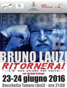 """Bruno Lauzi: """"Ritornerai, c'è una strada nel parco…"""" a Rocchetta Tanaro"""