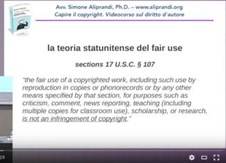 Fair use e libere utilizzazioni (parte prima)