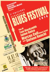 Conto alla rovescia per la seconda edizione del Seravezza Blues Festival: appuntamento il 14 Luglio
