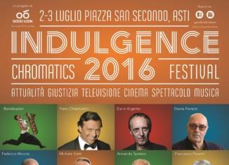 Indulgence 2016: grande Cinema, Televisione, Attualità e Musica