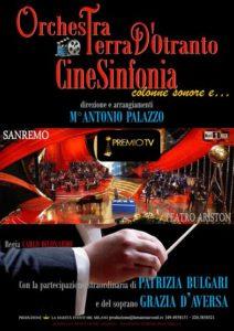 Patrizia Bulgari canta il cinema con l'Orchestra Terra d'Otranto 1