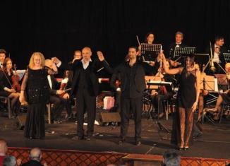 Patrizia Bulgari canta il cinema con l'Orchestra Terra d'Otranto