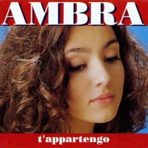 """T'appartengo di Ambra Angiolini, """"disco cult"""" degli anni Novanta 1"""