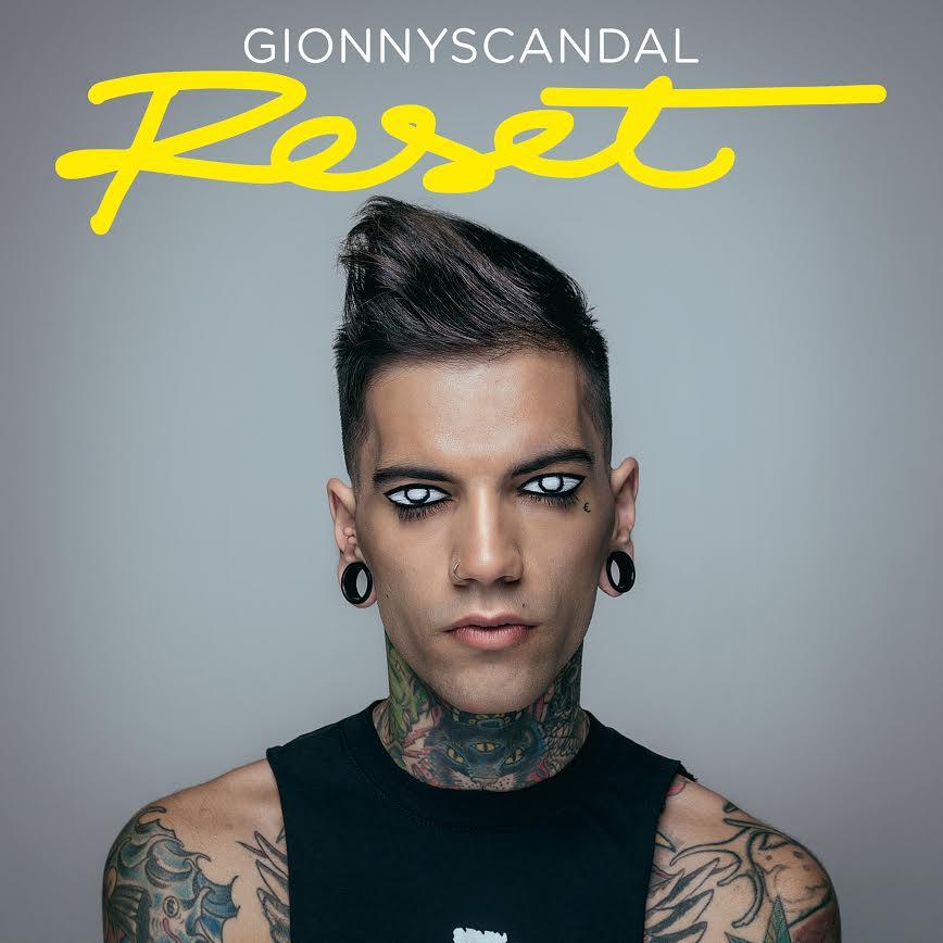 GionnyScandal, il rapper pubblica RESET