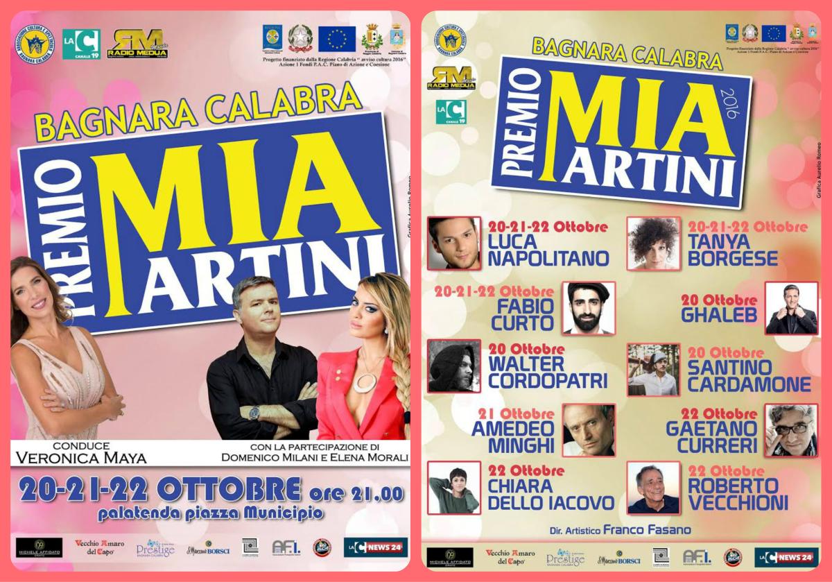 Premio Mia Martini 2016, al via la 22ª edizione