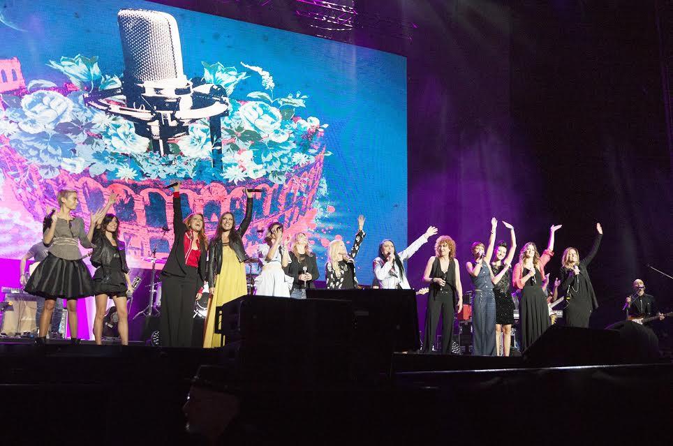Amiche in Arena, esce il racconto del concerto