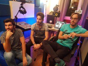 Le Tendenze: i tre moschettieri della musica 1