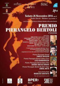 """Premio Pierangelo Bertoli: un evento """"vero"""" nel nome del cantautore di Sassuolo 1"""