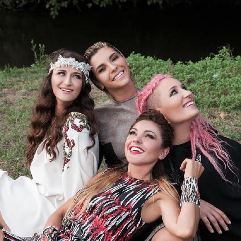Simonetta Spiri, Greta, Verdiana e Roberta Pompa