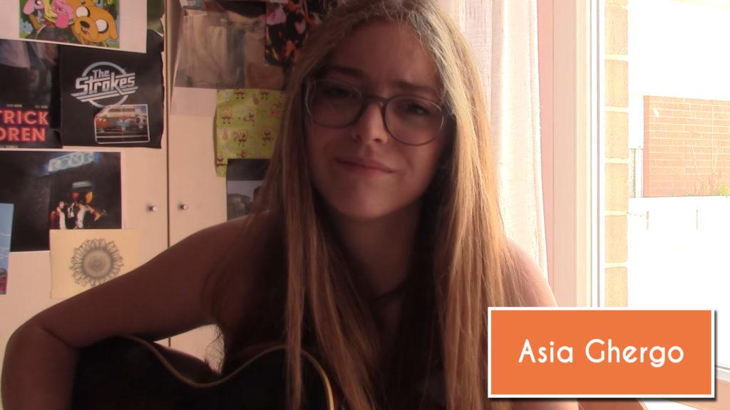 Chi è Asia Ghergo, la ragazza delle cover