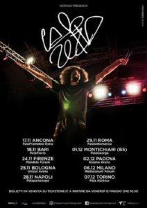 Caparezza, nuovo album e tour nei palasport nel 2017