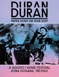 Duran Duran, unica data italiana all'Home Festival 1