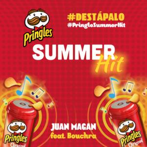 Bouchra e Juan Magan, Destápalo brano per Pringles