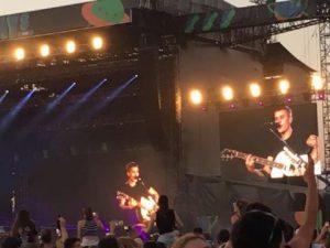 Justin Bieber entusiasma il pubblico dal palco degli I-Days di Monza 1