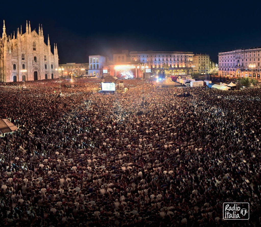 Radio Italia Live: i concerti a Milano e Palermo