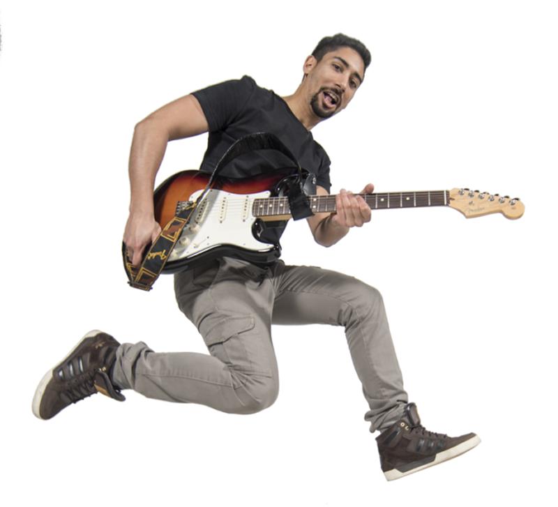 David Carelse per imparare a suonare la chitarra