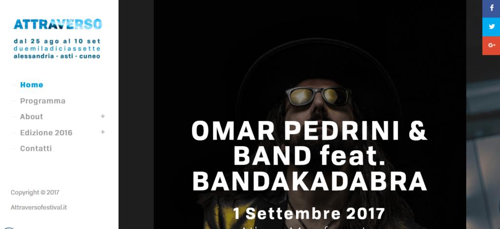 Attraverso Festival Piemonte: musica, spettacolo, enogastronomia
