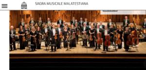 Sagra Musicale Malatestiana, torna la grande musica sinfonica (con incursioni in altri generi) a Rimini