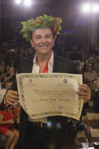 "Dodi Battaglia: laurea honoris causa in ""Chitarra elettrica"""