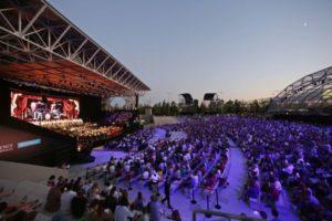 Quattro live per l'Open Air Theatre di Experience Milano