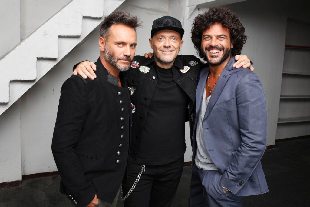 Nek, Max, Renga: il tour