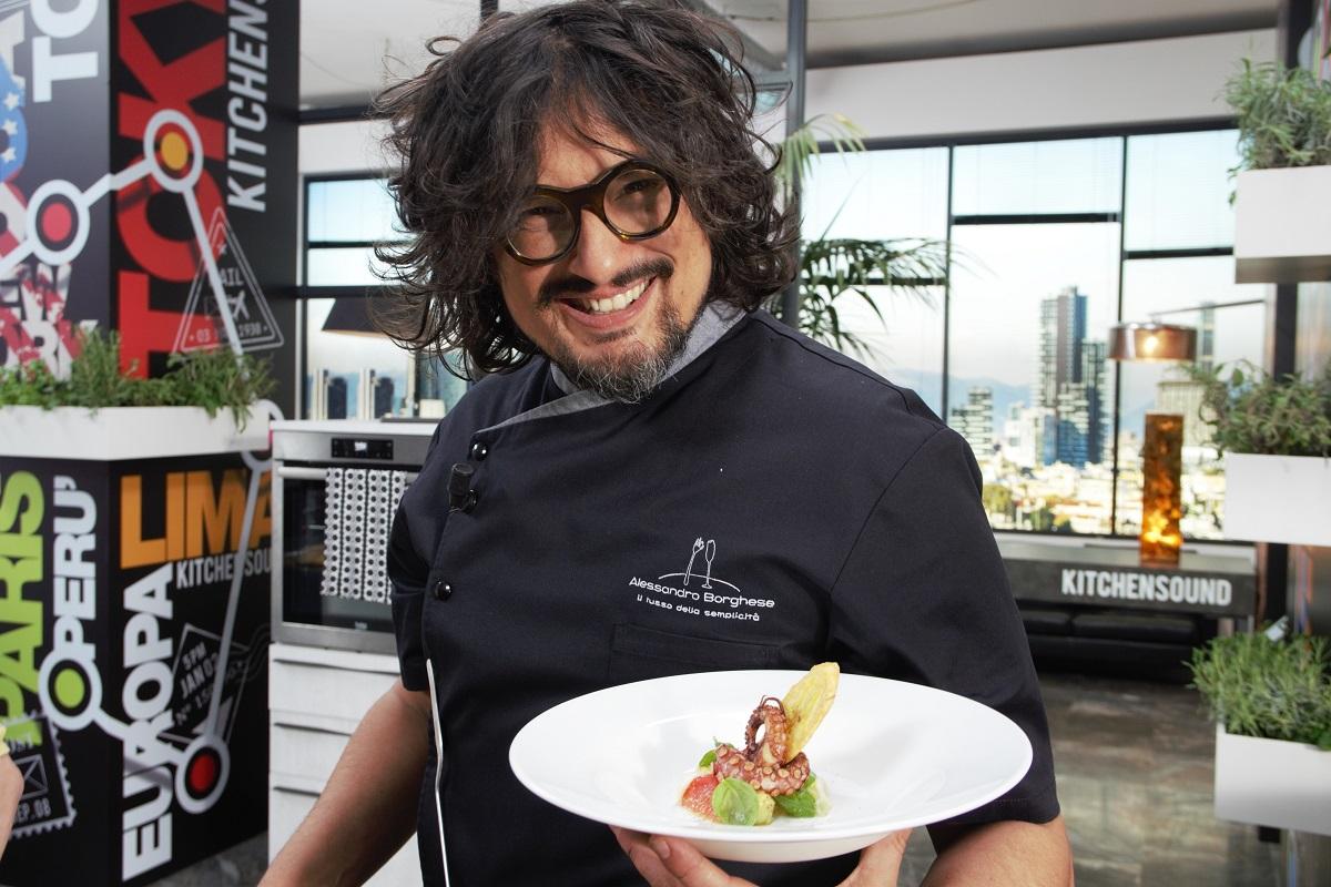 Alessandro borghese kitchen sound intervista allo chef for Alessandro borghese milano