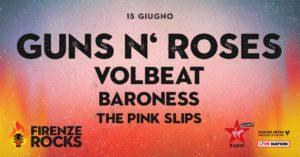 Firenze Rocks: altri nomi confermati dopo Guns N' Roses, Foo Fighters, Iron Maiden
