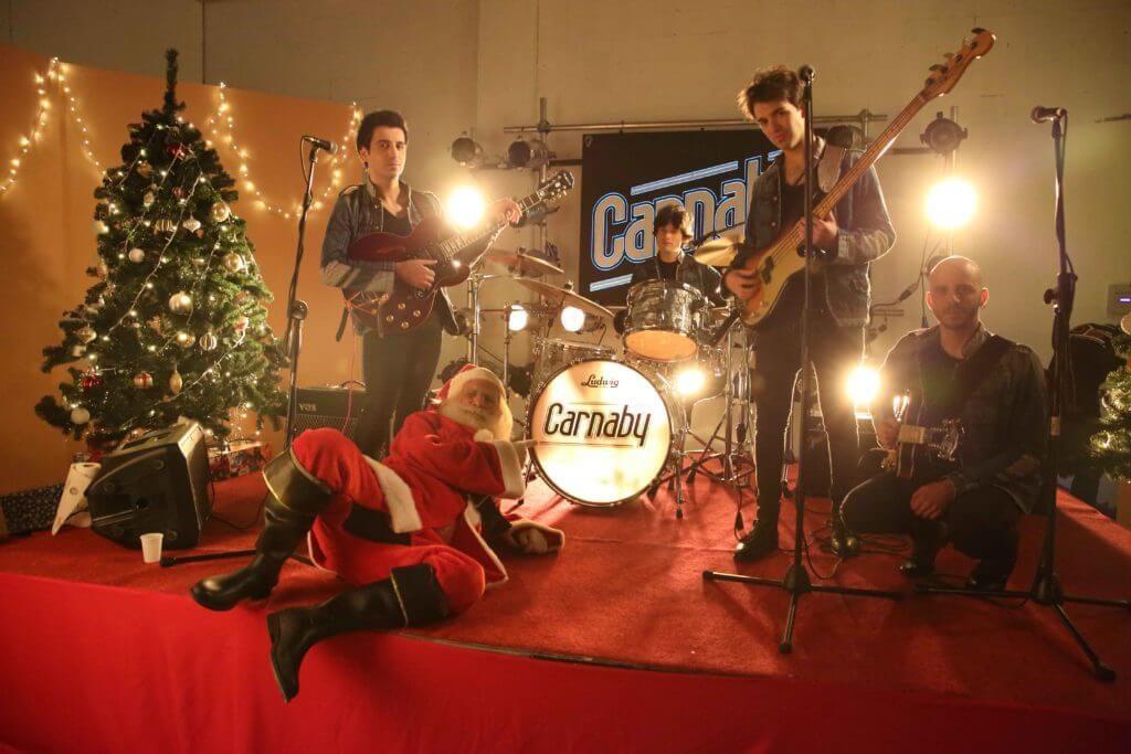 Christmas Girl dei Carnaby, band band italo-americana