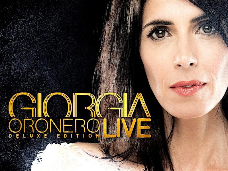 """Giorgia racchiude le emozioni del suo ultimo tour in """"Oronero Live"""""""