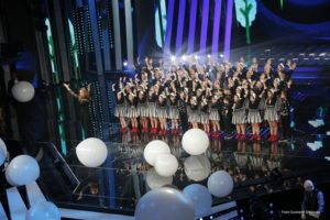 Il Piccolo Coro a Sanremo con Lo Stato Sociale 1