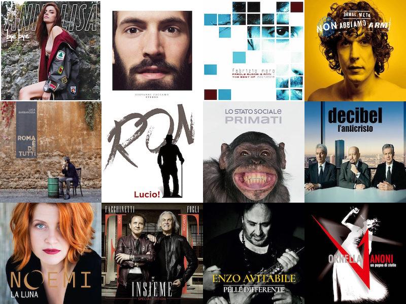 Sanremo 2018: ecco svelati gli album degli artisti in gara