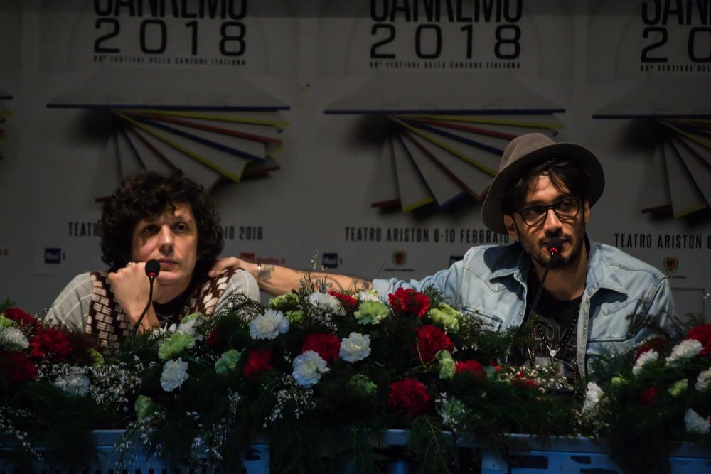 Sanremo 2018: Ermal Meta e Fabrizio Moro