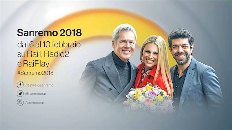 Sanremo 2018, il programma completo delle serate del Festival