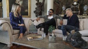 Sting e Shaggy su Sky con Diletta Leotta