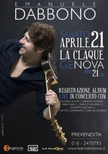 Emanuele Dabbono - La Claque Genova