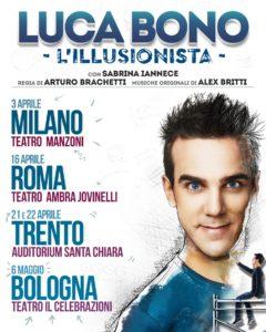 Luca Bono, illusionista per vocazione