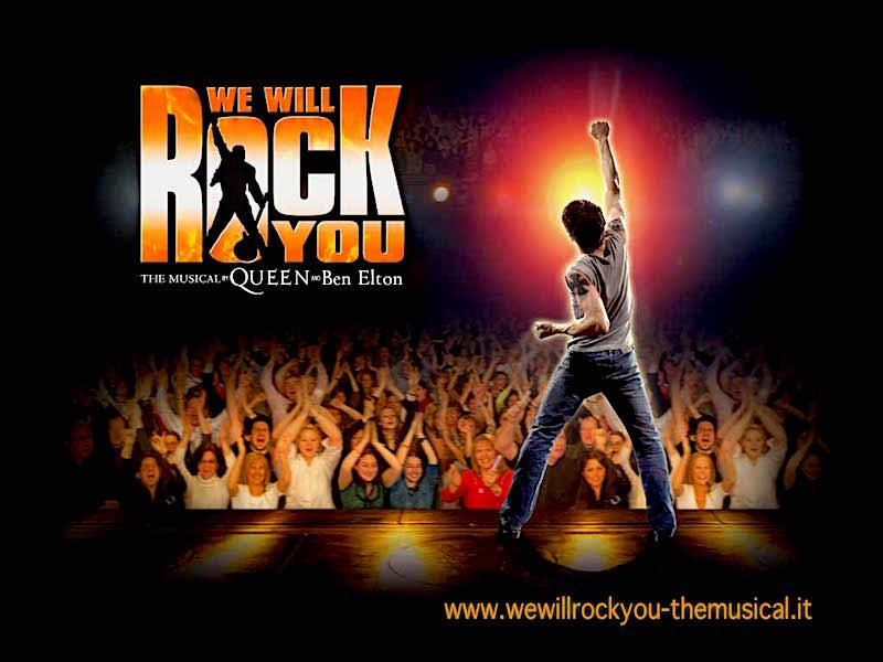 """""""We will rock you"""", al via le audizioni del musical"""