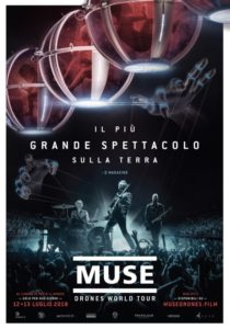 "Muse: ""Drones world tour"" al cinema ma solo per due giorni 1"