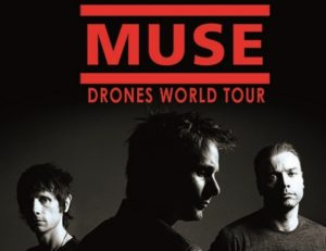 "Muse: ""Drones world tour"" al cinema ma solo per due giorni"