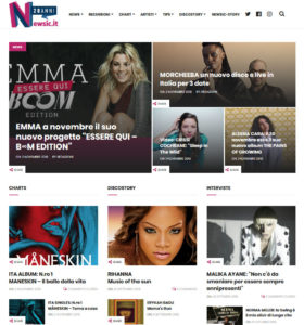 Newsic: la fusione di News e Music