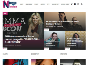 Newsic: la fusione di News e Music 2