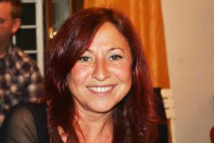 Patrizia Simonetti e l'inseparabile videocamera