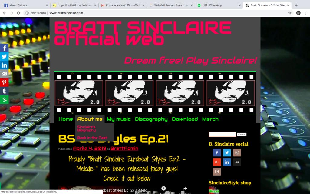Bratt Sinclaire: re dell'eurobeat made in Italy 3