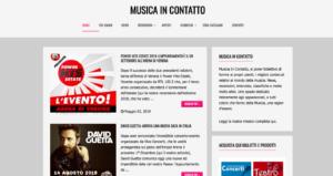 Edicola361: Musicaincontatto.it 1