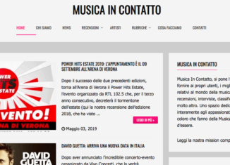 Edicola361: Musicaincontatto.it 1