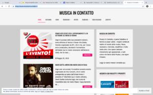 Edicola361: Musicaincontatto.it