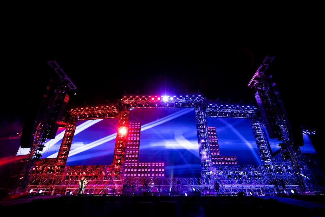 Start Tour 2019 di Ligabue: le immagini della prova generale 2
