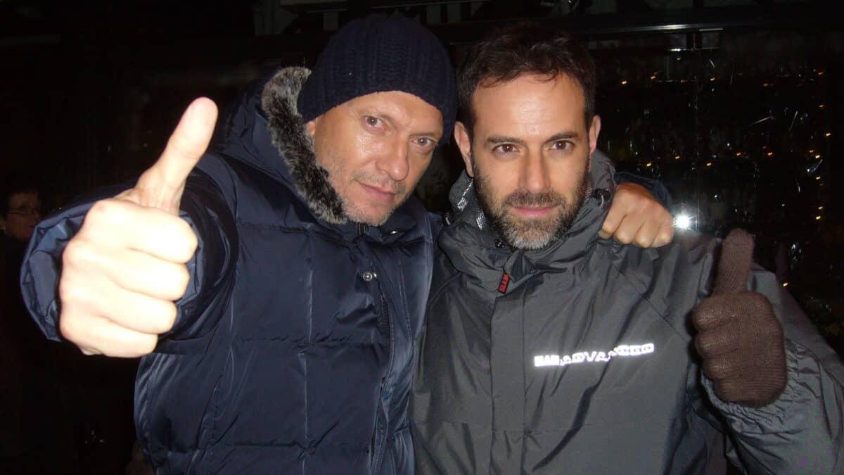 Fausto Brizzi e Biagio Antonacci