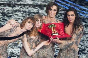 Sanremo 2021, il trionfo dei Maneskin