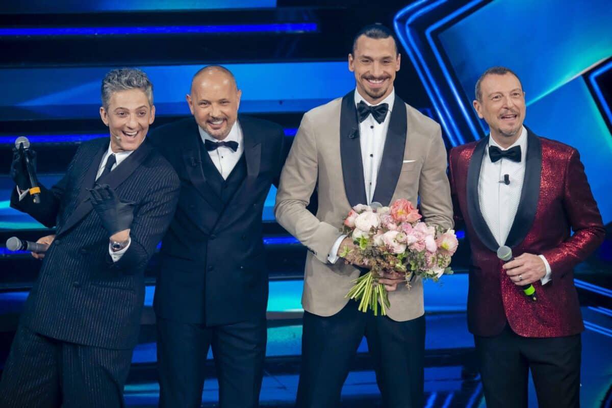 Sanremo 2021, la terza serata Amadeus, Fiorello e Mihajlovic
